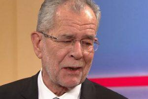 Van der Bellen: Ez egy Európa-barát Ausztria győzelme