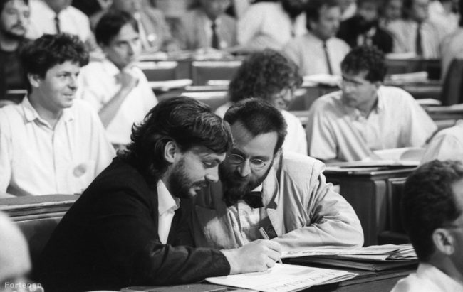 30 éve a parlamentben